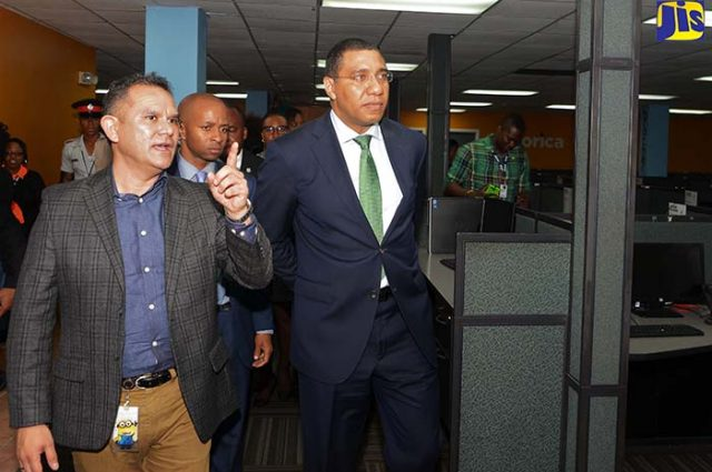 Government giving the BPO sector support captured by Vision newspaper Caribbean news