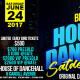 Poster of dancehall history shown by Vision Newspaper Jamaican News