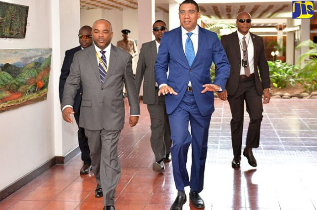 Prime minister Holness discusses use of force with INDECOM being covered by vision caribbean newspaper