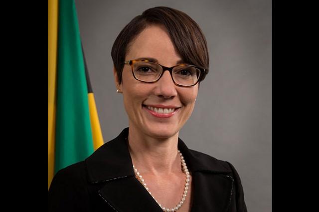 headshot of Trinidadian Minister Kamina Johnson shown for GTA weekly
