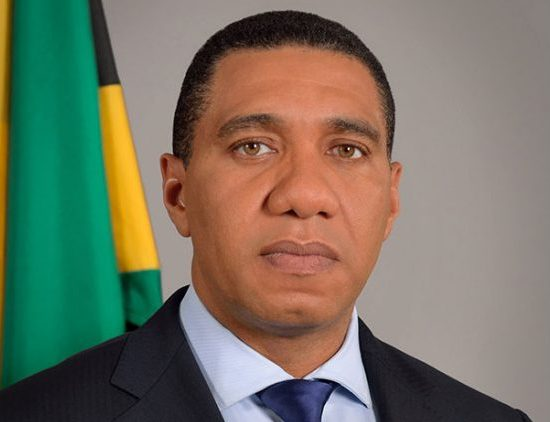 Prime minister Holness giving his condolences to the UK covered by Vision Newspaper Caribbean news