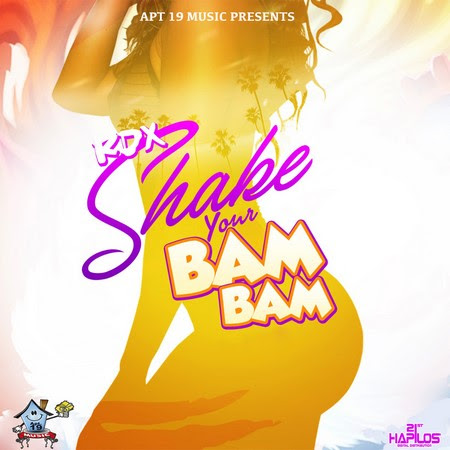 Poster for Shake your Bam Bam by RDX shown to Vision Newspaper Caribbean news