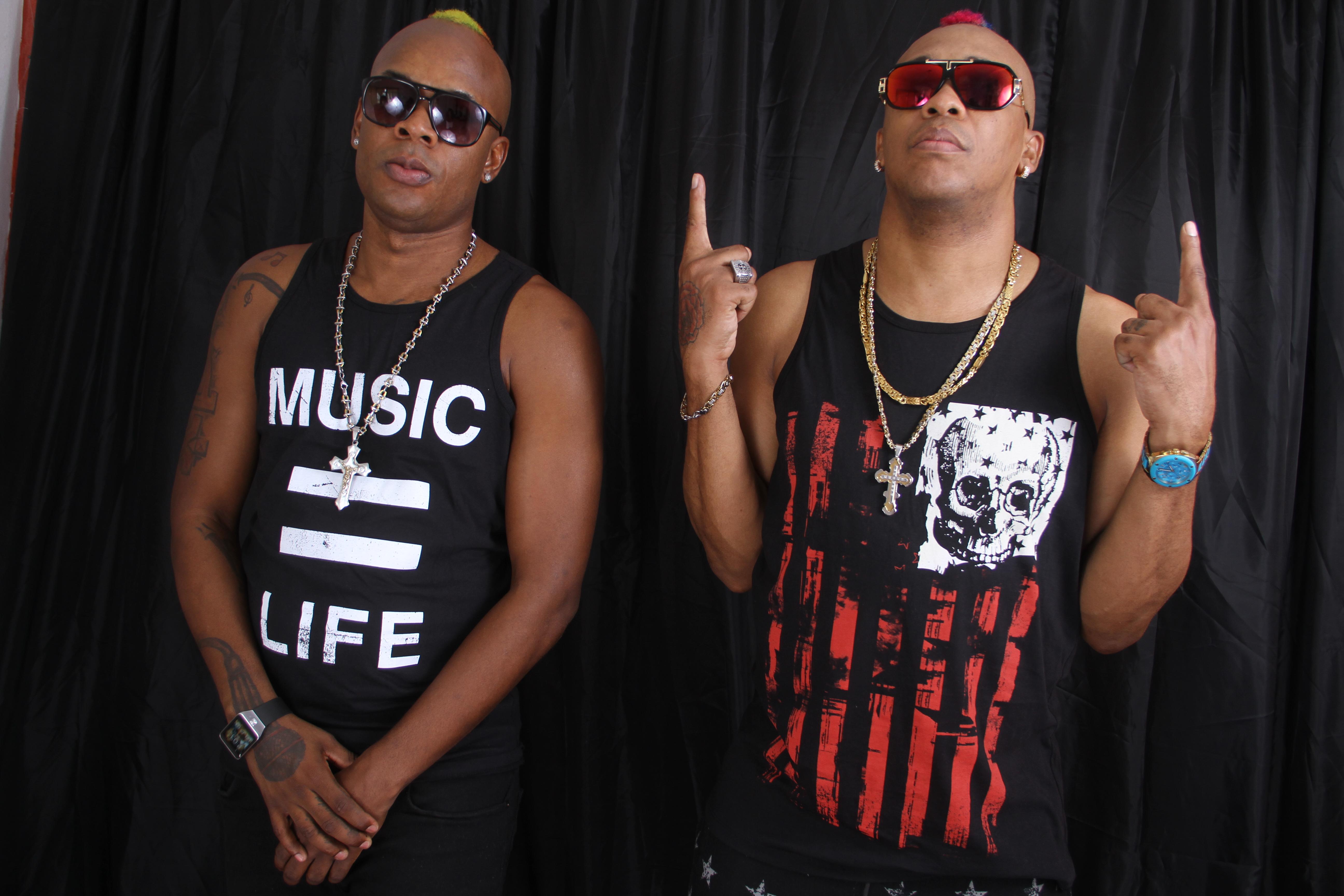 RDX promoting their single Shake your bam bam to Vision Newspaper Jamaican News