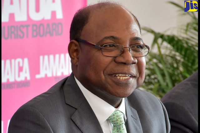 Edmund Bartlett addressing partnership with southwest airlines