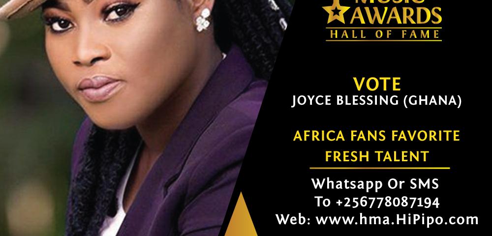 Joyce Blessing Grabs 4 Nominations at 2019 MGWMA's in Kenya